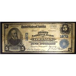 SERIES of 1902 $5 NATIONAL BANK of VINCENNES, IN