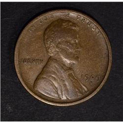1909-S LINCOLN CENT VF