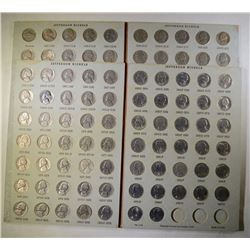 JEFFERSON NICKEL SET FROM 1938 TO 1998