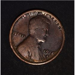 1914-D LINCOLN CENT VG