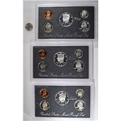 1996-1998 Silver Proof Sets