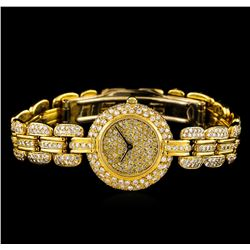 Renato Ferraris 18KT Yellow Gold 4.00 ctw Diamond Ladies Watch