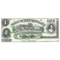 1850's $1 Obsolete Bank Note of Goodspeed's Landing Connecticut