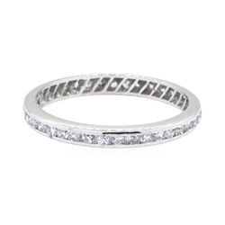 1.00 ctw Diamond Eternity Ring - Platinum