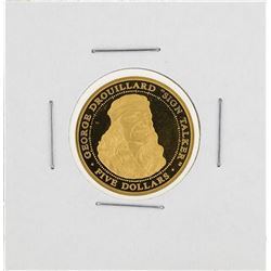 2003 Samoa $5 Sovereign Nation of the Shawee Gold Coin