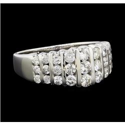 1.25 ctw Diamond Ring - 14KT White Gold