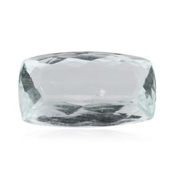 4.56 ctw Cushion Cut Natural Cushion Cut Aquamarine