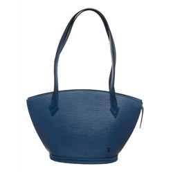 Louis Vuitton Blue Epi Leather St Jacques PM Shoulder Bag