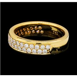 0.79 ctw Diamond Ring - 18KT Rose Gold