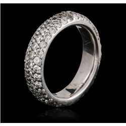 Platinum 1.40 ctw Diamond Ring