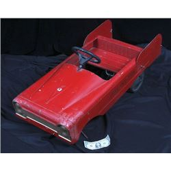 Antique Vintage Fire Fighter Pedal Car c.1930-50's