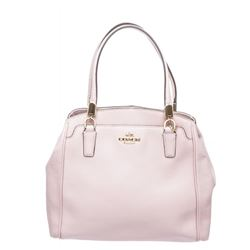 Coach Pink Leather Satchel
