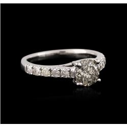 14KT White Gold 1.37 ctw Diamond Ring