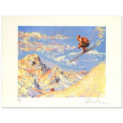 The Sunset Skier