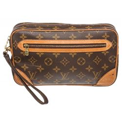 Louis Vuitton Monogram Canvas Leather Marly Dragonne Gm Bag