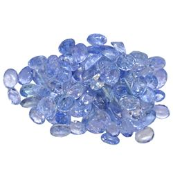 13.35 ctw Oval Mixed Tanzanite Parcel