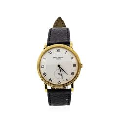 Patek Philippe 18KT Yellow Gold Calatrava Wristwatch