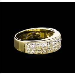 2.15 ctw Diamond Ring - 14KT Yellow Gold