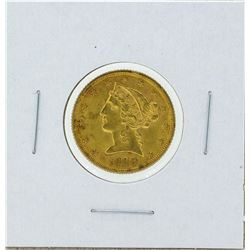 1900 $5 Liberty Gold Coin BU