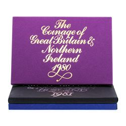 1980-1982 Coinage of Great Britain and Northern Ireland Proof Set