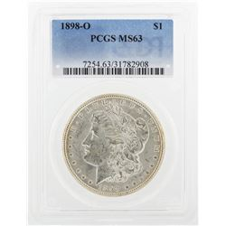 1898-O PCGS MS63 Morgan Silver Dollar