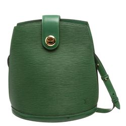 Louis Vuitton Green Epi Leather Cluny Shoulder Bag