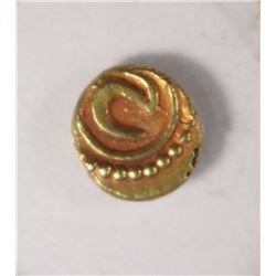 1800's GOLD FANAM STATES OF INDIA BU