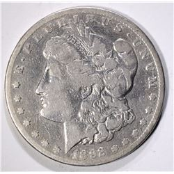 1892-CC MORGAN DOLLAR  VG/FINE