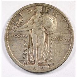 1919-S STANDING LIBERTY QUARTER ORIGINAL XF+