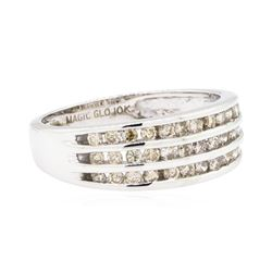 10KT White Gold 0.50ctw Diamond Ring