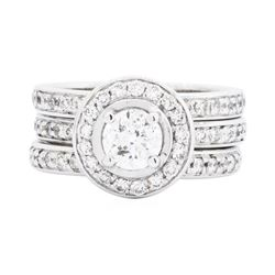 14KT White Gold 2.33ctw Diamond Ring