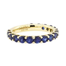 14KT Yellow Gold 2.00ctw Sapphire Ring