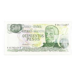 Pack of (100) Argentina 500 Pesos Uncirculated Notes