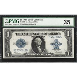 1923 $1 Silver Certificate Note Fr.237 PMG Choice Very Fine 35