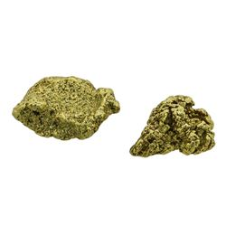 Lot of (2) Australian Gold Nuggets 5.24 Grams