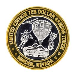 .999 Silver Carson Valley Inn Minden, NV $10 Limited Edition Gaming Token