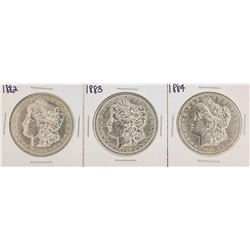 1882-1884 $1 Morgan Silver Dollar Coins