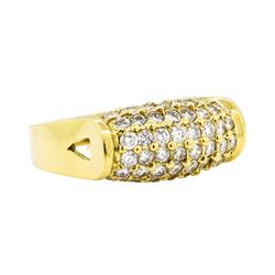 18KT Yellow Gold 1.47ctw Diamond Ring