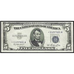 1953 $5 Silver Certificate STAR Note