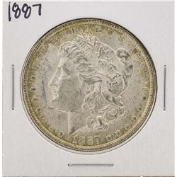 1887 $1 Morgan Silver Dollar Coin