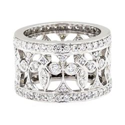 18KT White Gold 1.71ctw Diamond Ring