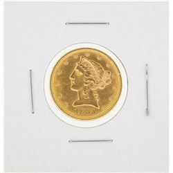 1885 $5 Liberty Head Half Eagle Gold Coin