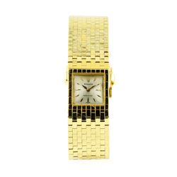 Rolex 18KT Yellow Gold Ladies Manual Wind Bracelet Wristwatch