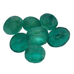 3.85ctw Oval Mixed Emerald Parcel