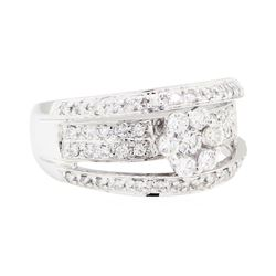 18KT White Gold 0.75ctw Diamond Ring