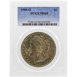 1900-O $1 Morgan Silver Dollar Coin PCGS MS65