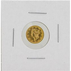 1852 $1 Liberty Head Dollar Gold Coin