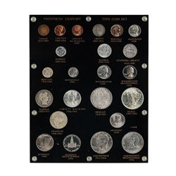 Twentieth Century Type Coin Set