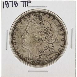 1878 7TF $1 Morgan Silver Dollar Coin