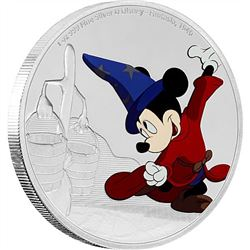 2017 1 oz Silver $2 Mickey Through the Ages: Fantasia